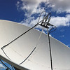 Multi Satellite Feedhorn Assembly on 3.6 meter dish