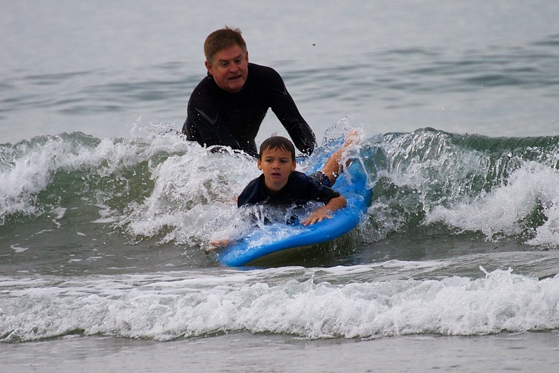 Saddleback Church Surfing Ministry Free Lessons, Jan, 7, 2017, Photographer: Beth Bremmer