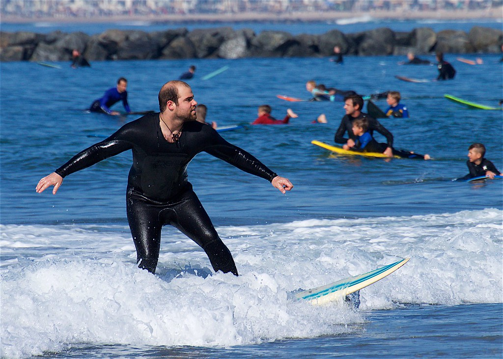 Saddleback Church Surfing Ministry Free Lessons, February, 03, 2018, Photographer: Beth Bremmer