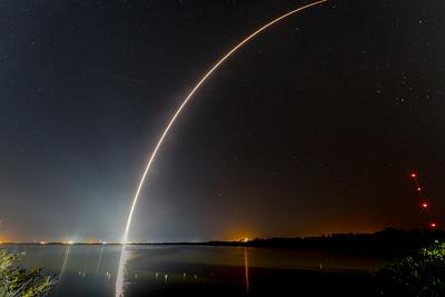 Three rockets, two frames