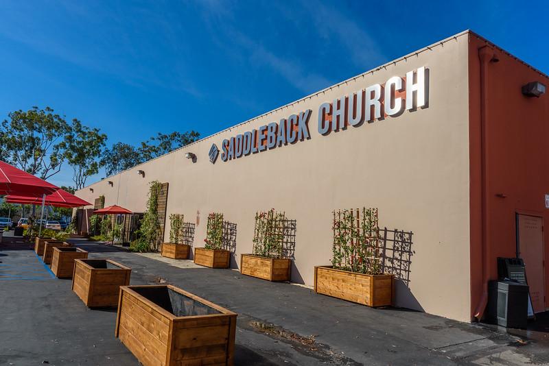 Saddleback Irvine South campus building - photo by Allen Siu 2017-01-01