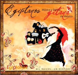 Fondé en 2003 par Lilla Zellet Elías, Egiptanos est une expression musicale et chorégraphique pleine de la vitalité et de l'esprit libre qui caractérise le Peuple Gitan et qui tout long de l'histoire a servi de pont entre les cultures, il est aussi un creuset de langues et un transmetteur de valeurs interculturelles.
