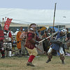 Pennsic XLI - Saturday : Some spars, a spear and pole arm tourney, and the Kamikaze battle.
