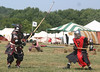 Pennsic XXXVI - Saturday : Greyhound coursing, Pole Arm Tourney and Lost Boys Battle.