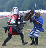 Pennsic XXXVI - The Early Days : Random spars, poleaxe, greatsword and buckler tournies.