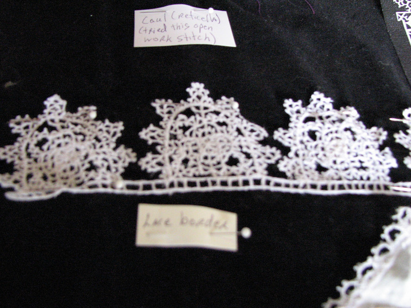 More Arrienne's lace.