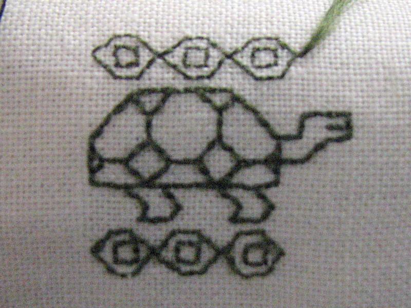 Baroness Janina's turtle design