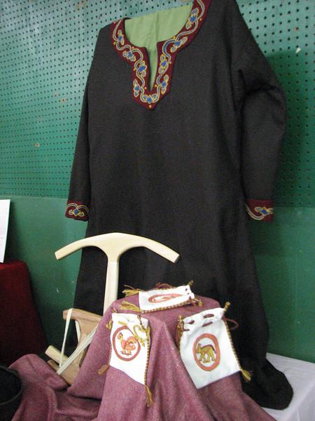 Baroness' Khaleeb's display.