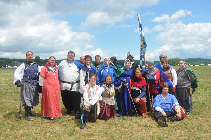 The Barony of Windmaster's Hill Rapier Contingent.  And they were also out of bubblegum.