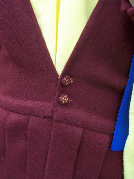 Front of Dungiven jacket.  Seamus O' Malloiriain.