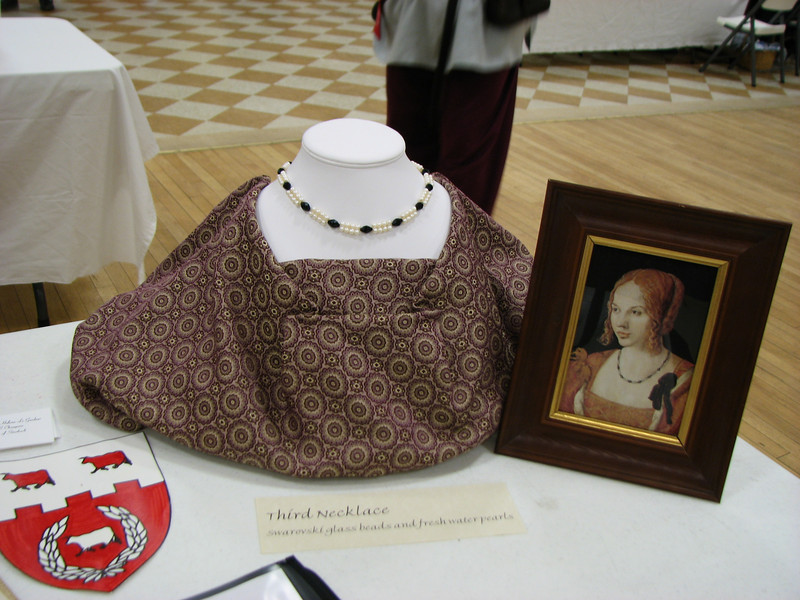 The display of Lady Heloise Le Gardeur, Stierbach's Baronial artisan.