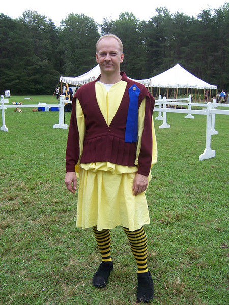 Highlander outfit.  Seaums O' Maloiriain.