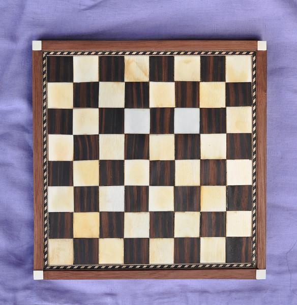 Game board, Florentine style.  Baron Marcellus Capoziello da Napoli.