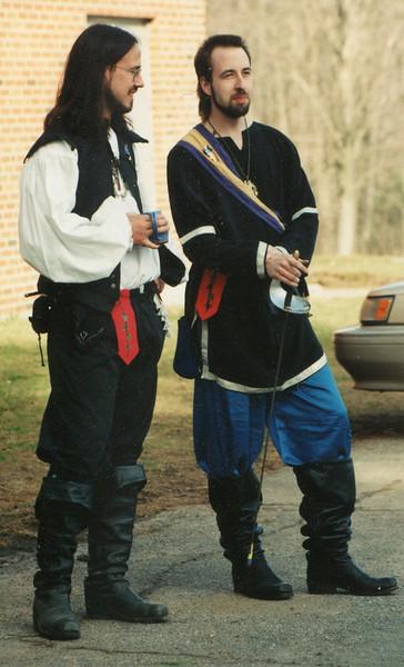 Fergus and Brokk, Fencers