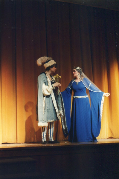 Court Schtick between Morgen as Princess and Count Sebastian, founder of iSebastiani