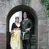 Gregor IV and Kiena II at Drachenwald's 20th Celebration