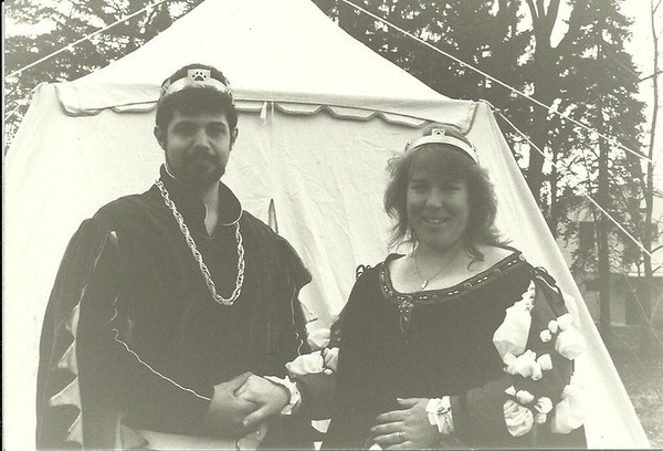 Horic & Leah. Picture from 1989