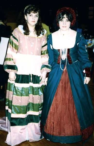 Two ladies at Lakewood Ren Fair, 1989