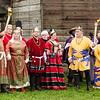 Pennsic Opening Ceremonies, 2012, Gregor III, Kiena I