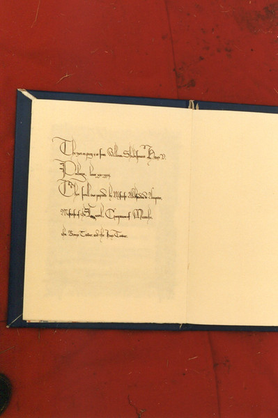 Front Right Text of the Friendship Scroll to Atenveldt
