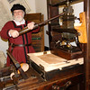 Master Iheronimus working on his printing Press