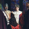 Bjorn & Morgen at their Coronation in 1996