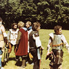 1977 Event in Ct. Pictured are a young Feral, Wynstan, Enerdril of the Reach, Balin and (mundane) Clifford Beal (author)