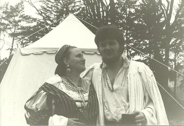 Sedalia & Gavin, Photo from 1989