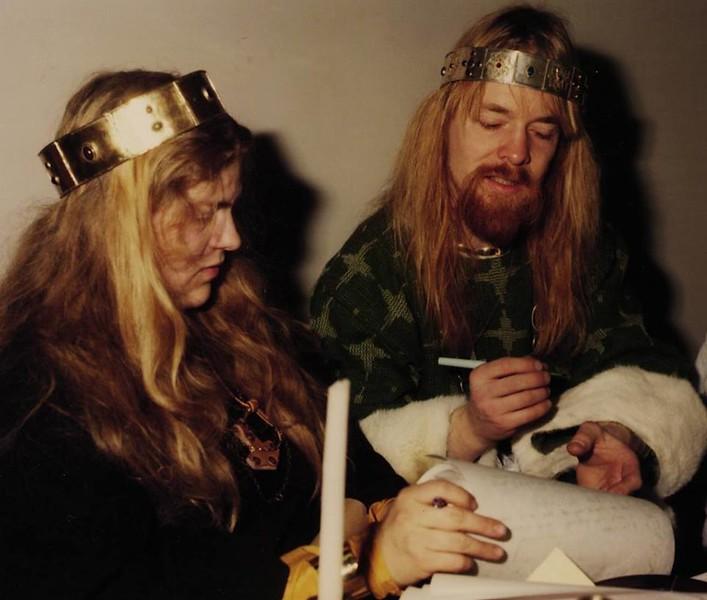 Aelfwine I and Arastorm I; as King & Queen