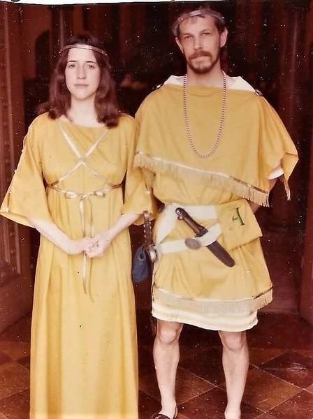 Hasdrubal II and Amber;  as Prince & Princess