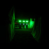 crazy alien glow in merchants row in the middle of the night...............silly atm's