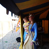 Queen Asa of Atenveldt welcomes the Princess and Queens to her Tea.