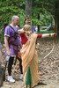 Practicing archery with the Captain of Archers, Mark Squirrelsbane