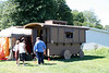 Gypsy wagon: staying at Pennsic in style.