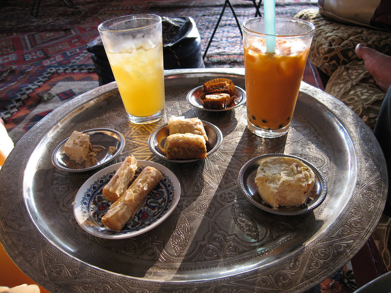 Pennsic 36, YIV tea and snacks