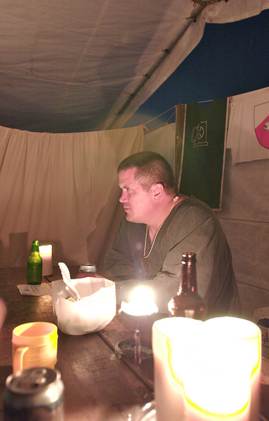 Pennsic 36, Jeff at the Bar