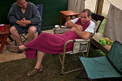 Pennsic 42 morning has been more friendly