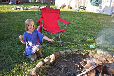 Pennsic 42 peep s'mores