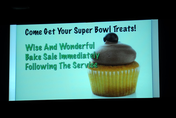 WISE AND WONDERFUL BAKE SALE 2-7-10