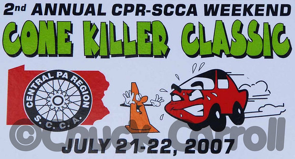 SCCA - CPR (Sports Car Club of America - Central  Pennsylvania Region) Cone Killer Classic Autocross