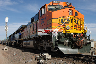 BNSF RAILWAY SCENERY