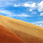 "Print title:  ""  SAND AND SKY ""  / © Gj"