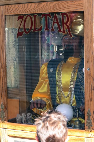 Zoltar Machine in Coney Island