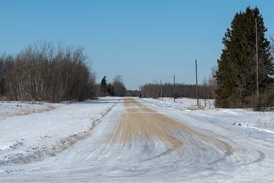 Manitoba Prairies in Winter