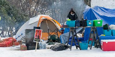 Camping out at the Msnitoba Leg