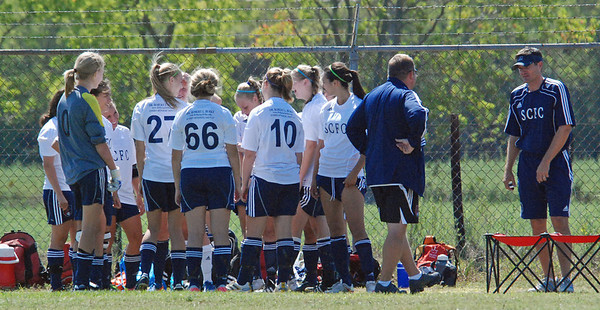 West University Express Soccer Game 10.02.11