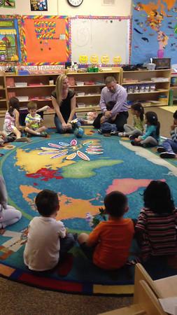 CELEBRATING REESE'S 3RD BIRTHDAY AT SCHOOL<br /> CLASSROOM W6<br /> APRIL 29, 2014<br /> MISS STEPHANIE & MISS MARLENE