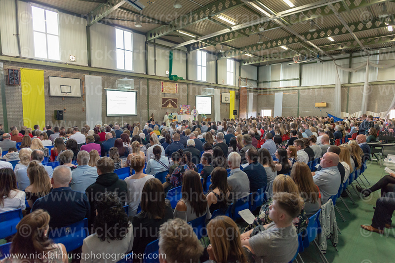"A Celebration of our Journey as a Community in Christ ~ St Peter's Catholic High School Leavers' Mass 2018.  Picture by  <a href=""http://www.nickfairhurstphotographer.com"">http://www.nickfairhurstphotographer.com</a>"