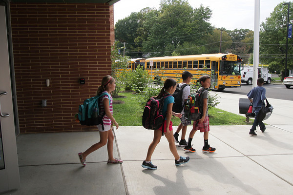First day of school for Erdenheim Elementary