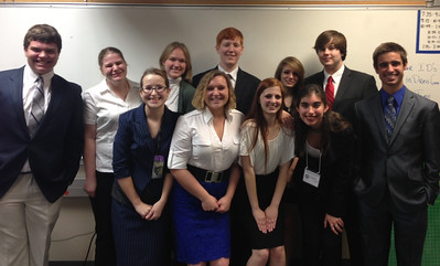 The Legacy High School ACADEC Team at the 2013 Regional Competition